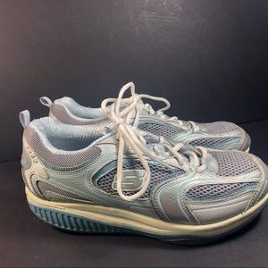 Skechers Shoes - Skechers shape ups, size 7  grey and  blue